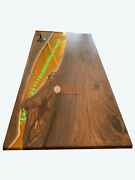 Custom Resin Epoxy River Table Acacia Customize Dining Conference Table Top Deco