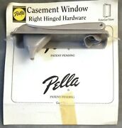 New Sealed Pella Casement Right Hinged Hardware Tp464-1001 Champagne