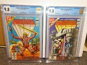 Masters Of The Universe He-man Skeletor 1st Appearance 9.8 Cgc 1 And 2 Motu 1982