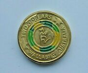2018 Aust. Wallabies 2  Coin This Photo Is The Actual Coin You Purchase