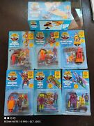 Sealed 1987 Sky Commanders Kenner 6 Figures And 1 Vehicle Lot.
