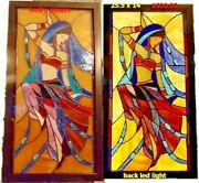 Stained Glass Panel And Pictures Hand Made.