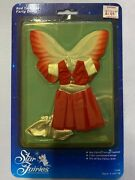 Vintage Tonka Doll Outfit - Star Fairies Red Twilight Party Dress