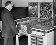 Pinball Machines Sparky And Do Re Me 1941 Vintage 8x10 Reprint Of Old Photo