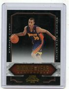 2009-10 Contenders 10 Stephen Curry Gold Rookie Rc 1/100 First Card Warriors