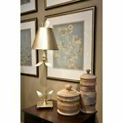 Red Bell Silver Buffet Table Lamp By Lucas Mckearn Distressed Silver