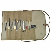 Waxed Canvas Small Tool Roll Handmade By  Fatigue