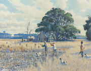 Aiden Lassell Ripley Covey In The Corn Field Canvas Print 16 X 2020