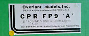 Ho Scale Omi Overland Models Cpr Fp9a 1405-1415 W/ditch Lights Painted Via 5849