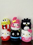 Squishmallows 7andrdquo Hello Kitty And Friends Set Of 6 Nwt