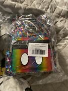 Disney Loungefly Mini Backpack Mickey Mouse Rainbow Sequin Rare New With Tags