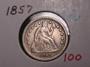 1857 Seated Liberty Dime Xf + Au Pq Very Nice Combined Shipping