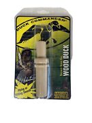 Duck Commander Single Reed Tan Plastic Hunting Wood Duck Call Made In Usa New