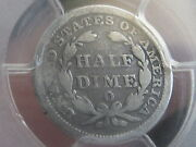 1853 O Seated Liberty Half Dime- No Arrows Pcgs Certified