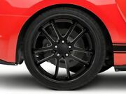 Rovos Cape Town Rear Wheel In Satin Black 20x10 Fits Mustang 15-20 Gt Eco V6