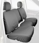 Covercraft Custom-fit Front Bench Seatsaver Seat Covers - Polycotton Fabric Grey