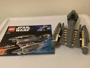 Lego Star Wars General Grievous Starfighter 8095 With Instructions Incomplete.
