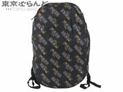 Fendi Fira Collaboration Mania With Pouch Eco Bag Backpack Nylon Navy Women 's