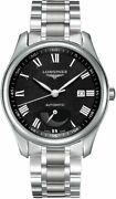 New Longines Master Collection Automatic Black Dial Menand039s Watch L29084516