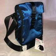 Nwt Built Ny Crosstown Lunch Bag Tote Insulated Thermal Cooler Box Blue
