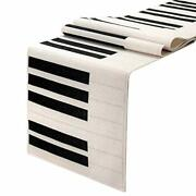 Piano Table Runner12 X 72 Inch For Wedding Table Decor Bridal Shower