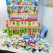 Playmobil Summer Fun Hotel 5265 Fully Furnished Guaranteed 100 Complete Boxed