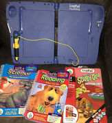 Leap Frog Leappad Plus Writing Learning System 3 Books W/ Cartridges .