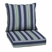 New Out Door Chair Deep Seat Back Cushion Pad Set Patio Furniture Cheap Durable