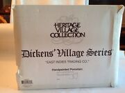 Dept. 56 And The Heritage Village Collection Present East Indies Trading Co.