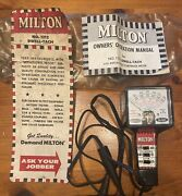 Vintage Milton Dwell-tach No. 1212 - Complete In Plastic Bag W/manual