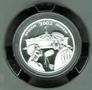 2002 Ontario Proof 50 Cents, Sterling Silver, Stratford Festival Of Canada