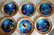 Royal Doulton Plates Collectables Franklin Mint Set Of 6