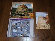 Chamberart 1000 Piece Puzzle Tower Of Babel Made In Korea Ships From Usa A-1099