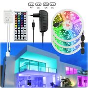 100ft 50ft Rooms Bar Led Strip Lights 5050 With Remote Color Changing Power Kits