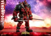 Hot Toys 1/6 Scale Vgm35 Venompool Strong12male Action Figure Toy Collectible