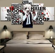 5 Panel Tokyo Ghoul Anime Poster Hd Canvas Printed Paintings Home Decor