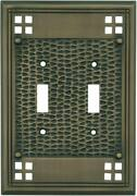 Mission Classic Antique Brass Switch Plates Wall Plates And Outlet Covers