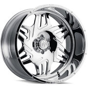 4 American Truxx Forged Orion Atf1908 Wheel 24 Polished 24x14 8 X 170 -76mm