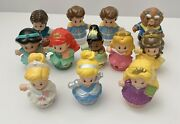 Fisher Price Little People Disney Princess Lot With Princes 12 Total