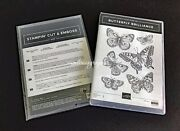 New Stampin' Up Butterfly Brilliance Stamp And Dies Set