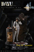 2021 Presell Dayu Studio One Piece White Suit Thug Luffy Statue Limited Figure