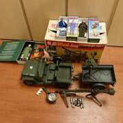 Gijoe Five Star Jeep With Box Things At The Time Secondhand Hasbro