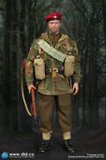 Did K80136a British 1st Airborne Division Troops Charlie Weathering Version Red