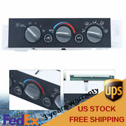 Air Conditioning Heater Control Panel For 1996 97-1999 Gm Car Chevrolet Gmc Usa