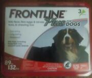 Frontline Plus 3 Doses Flea And Tick Treatment For Extra Large 89 To 132 Lbs Dog