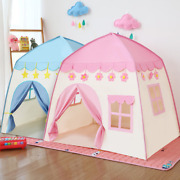 1.3m Childrenand039s Folding Tent Baby Large Girls Pink Princess Castle Childand039s Room