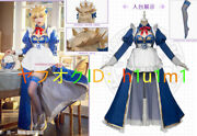 High Quality Real Photography Fate/grand Order Fgo Altria Pendragon Maid Cosplay
