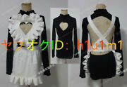 High Quality Real Photography Granblue Fantasy Narmere Maid Cosplay Costume Hair