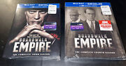 New Boardwalk Empire Blu-ray Lot Complete Third And Fourth Seasons 3 4 Sealed