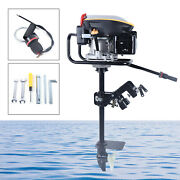 9hp 4 Stroke Outboard Motor Fishing Boat Engine With Air Cooling System 225cc